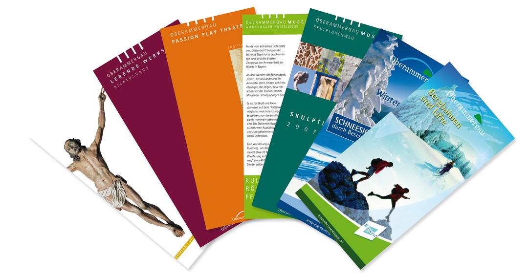 Oberammergau Tourismus Flyer